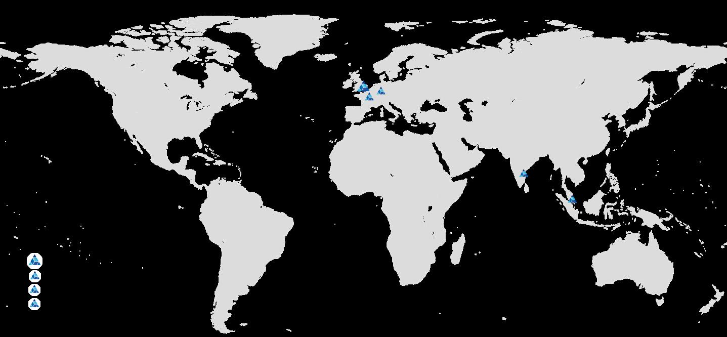 Sernova world map